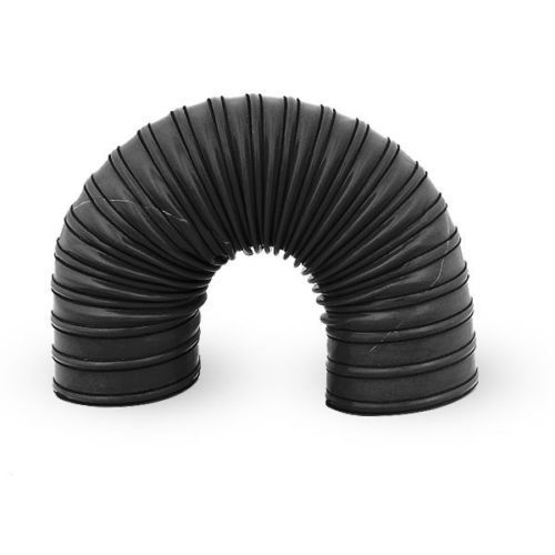 """90mm 3.5/"""" Silicone 2 Ply Black 4 Metre Air Ducting Flexible Duct Cold /& Hot"""