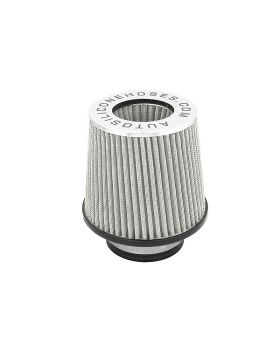 Twin Cone Performance Air Filter Silver