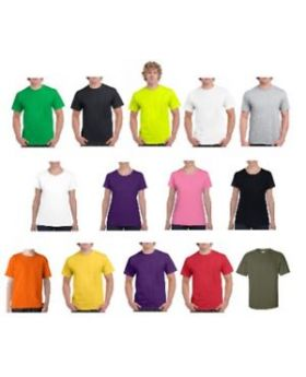 Gildan 5000L Heavy Cotton Plain T shirt - Sizes ( S-2XL )