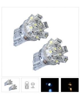 2xLED51 - T10-9LED Rectangle 12V White