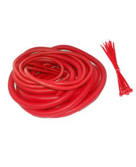 Engine Dressing Conduit Mixed Size Kit - Red