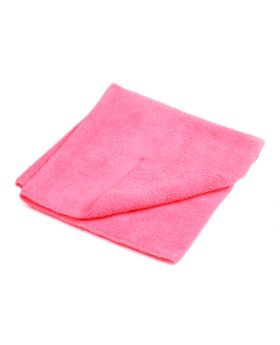 Kent Microfibre Cleaning Cloth Towel - Pink