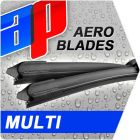 Front Pair AP Aero Multi Adapter Flat Wiper Blades - 21 inch & 15 inch