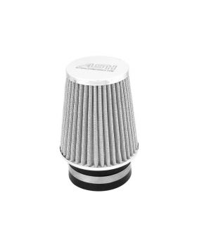 Single Cone Performance Air Filter Silver