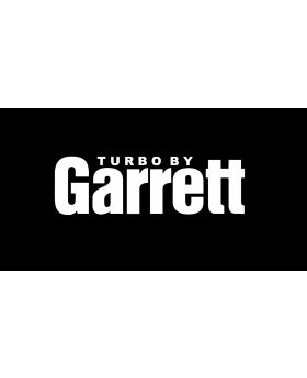 Turbo by Garrett - Car Performance Decal Custom Sticker White No Background