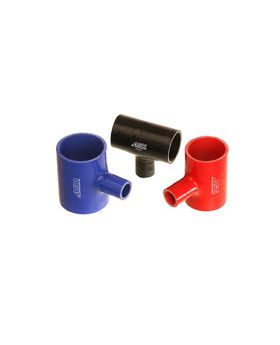 Silicone Hose T-Piece - ID 102mm - Black