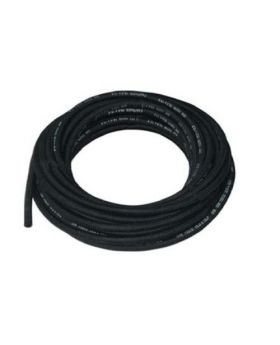 Rubber Cotton Overbraid Fuel Hose - 6mm ID
