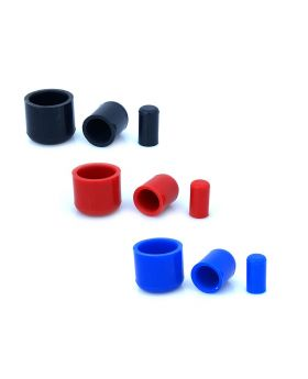 Silicone Hose End Caps - Blanking Plug Bung - 32mm - Blue